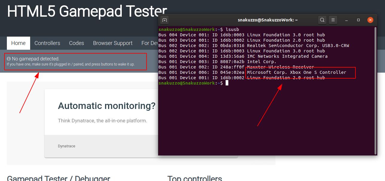 Solved Xbox One Controller On Ubuntu Stadia Community