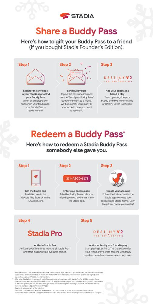 Buddy Pass Redemption